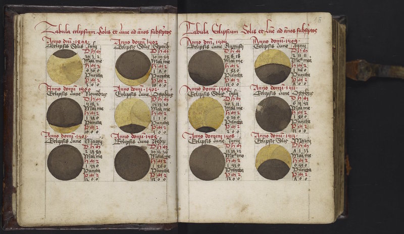 Calendarium and Ephemerides
